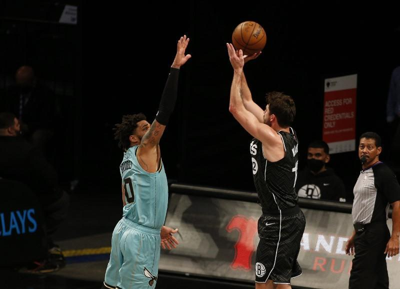 NBA: Charlotte Hornets at Brooklyn Nets