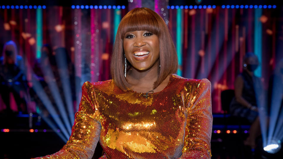 Motsi Mabuse has now been a judge on 'Strictly Come Dancing' for several years. (Guy Levy/BBC)