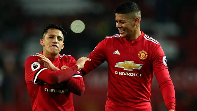 Marcos Rojo has revealed just how physical his battles with Alexis Sanchez got before he joined Manchester United.