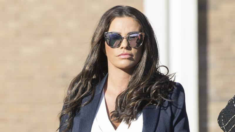 Ex-glamour model Katie Price declared bankrupt