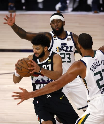 Murray scores 42, Nuggets beat Jazz 117-107 in Game 5
