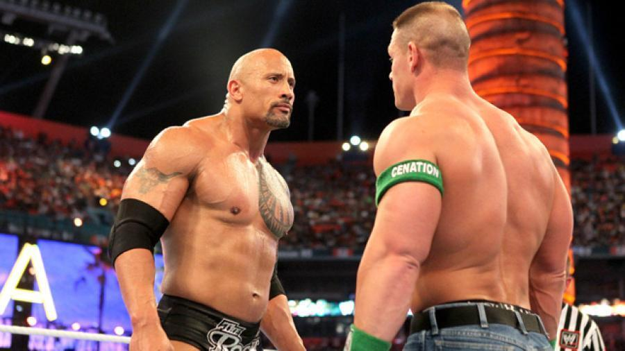 John Cena isn't the first WWE star to take to the movies – Credit: WWE