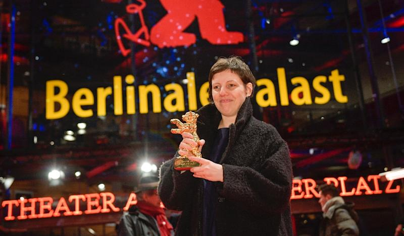 """Romanian director Adina Pintilie says her movie was intended to """"invite you the viewer to dialogue"""" with its frank portrayals of sex, disability and inhibitions (AFP Photo/Stefanie LOOS)"""