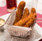 <p>Who can resist fried Californian pickles?</p>