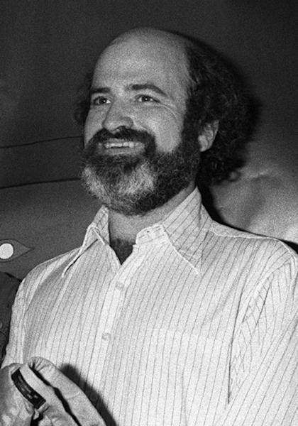 Few photos exist of the reclusive US director Terrence Malick, with this one taken at Cannes film festival exectly 40 years ago