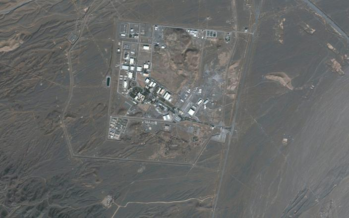 Satellite image shows Iran's Natanz Nuclear Facility in Isfahan - Reuters