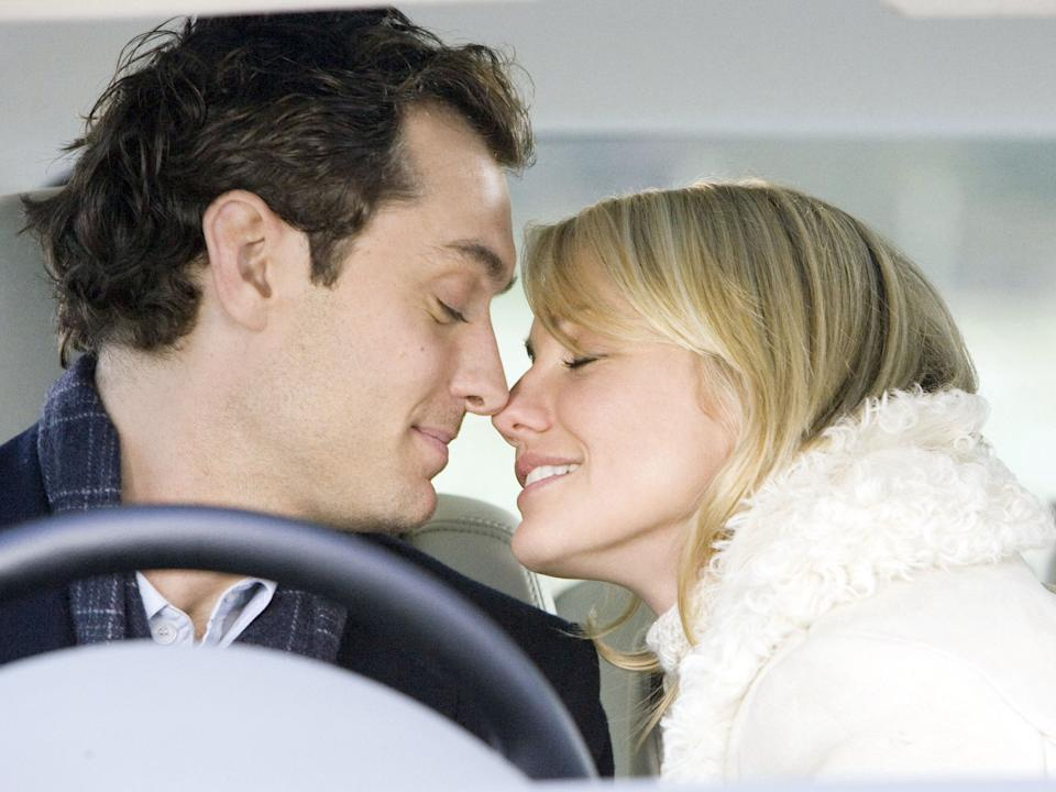 <p>Cameron Diaz and Jude Law in festive fave 'The Holiday'</p>Rex Features