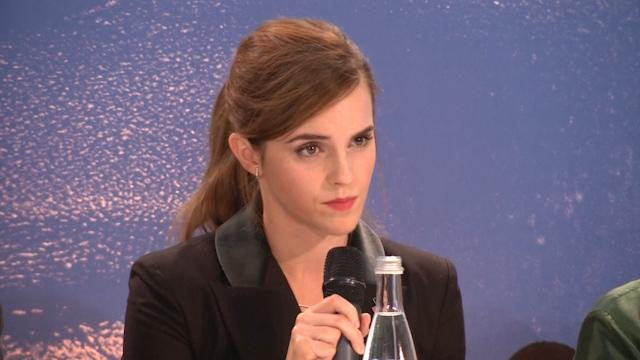 Emma Watson urges men to join gender equality battle