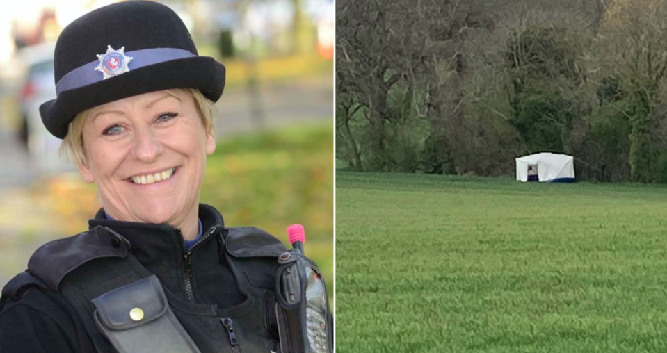 Julia James was found dead in a quiet hamlet in Ackholt Wood in Snowdown near Aylesham, Kent. (SWNS)