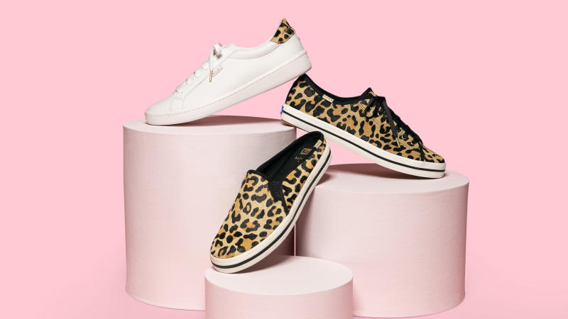 The Newest Keds x Kate Spade Collection Is Filled with Sparkles and Animal Print (!!)