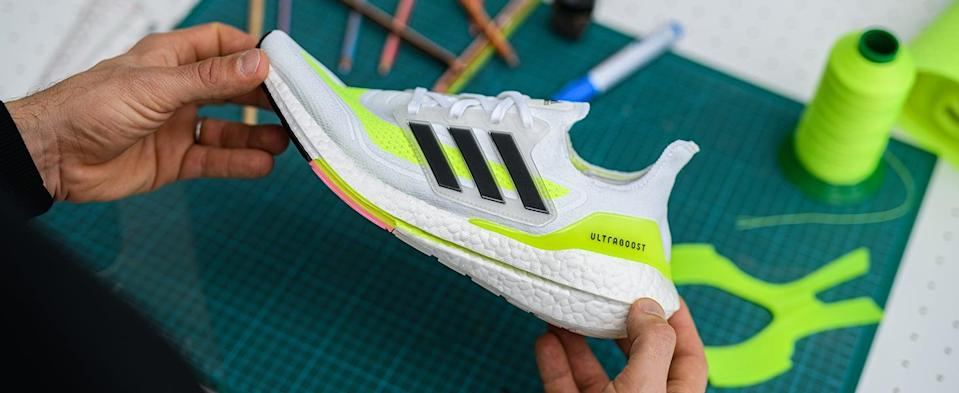 <p>These <span>Adidas Ultraboost 21 Running Shoes</span> ($168, originally $180) feel like walking on a cloud, they're so cushiony. Even still, they'll help you push faster and farther.</p>