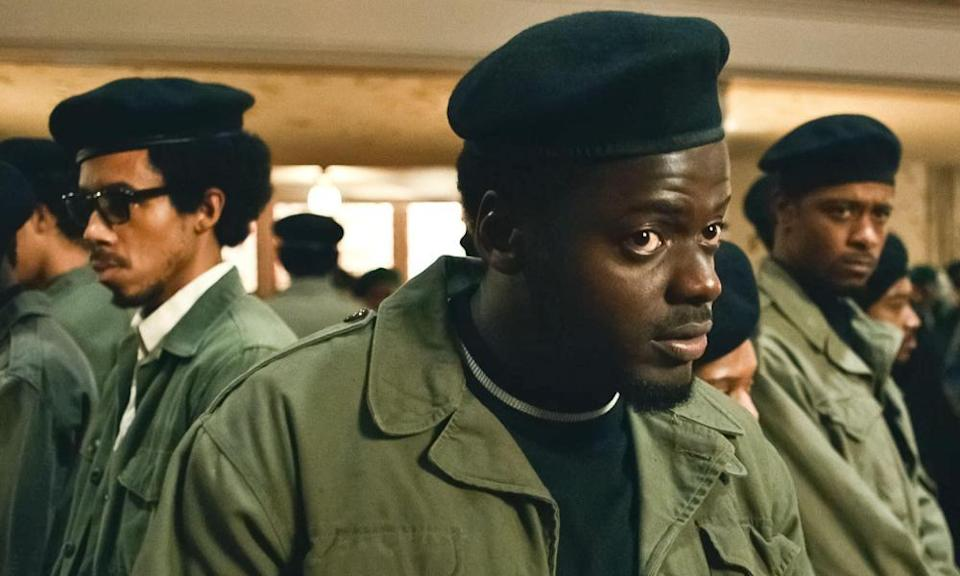 Daniel Kaluuya in Judas and the Black Messiah.