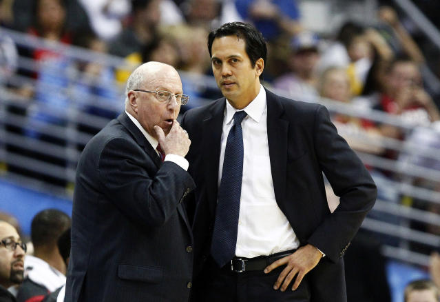 Sources: Heat reassign assistant coaches Ron Rothstein and Bob McAdoo