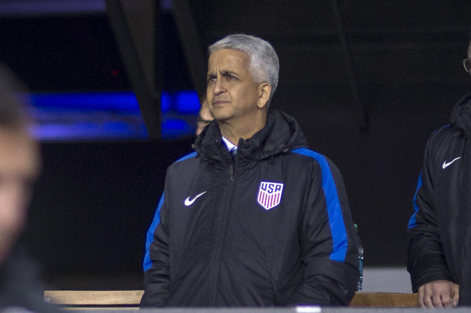 U.S. Soccer president Sunil Gulati has not yet announced whether he will run for re-election, but if he does, he will, for the first time, have competition.