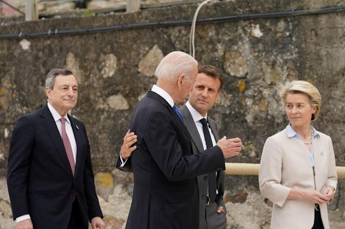 G7 summit in Crnwall