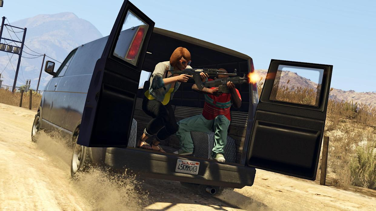 Check Out These New GTA 5 Xbox One/PS4/PC Screenshots
