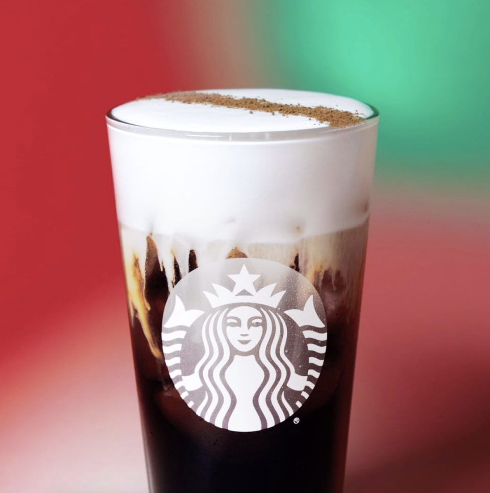 <p>After the success of the pumpkin cream cold brew, Starbucks released this Irish cream cold brew for the holidays. Some things, like Irish cream, shouldn't attempt to be replicated, so this is one of those drinks you only order once a year.</p>