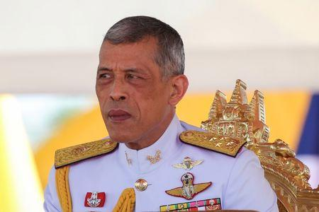 Thailand's King Maha Vajiralongkorn attends the annual Royal Ploughing Ceremony in central Bangkok