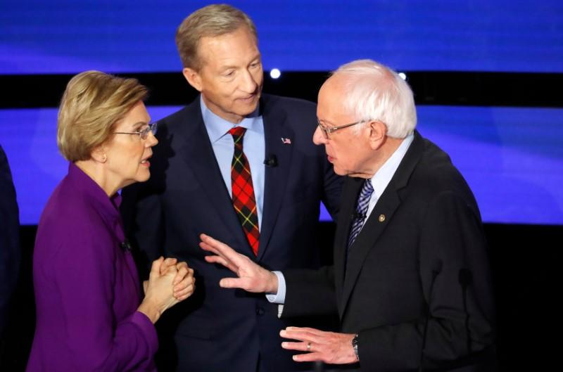 U.S. debate mystery solved: Warren told Sanders he called her a liar on national TV