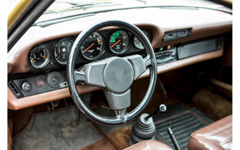 The Bridge Porsche Bonhams Goodwood interior - Credit: Bonhams