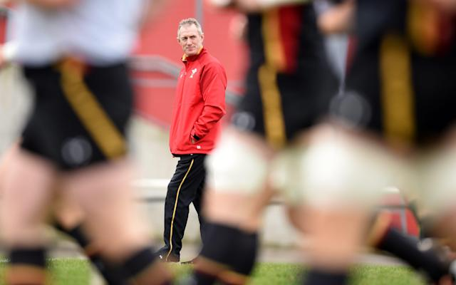 <span>Rob Howley oversees final preparations</span> <span>Credit: REX FEATURES </span>
