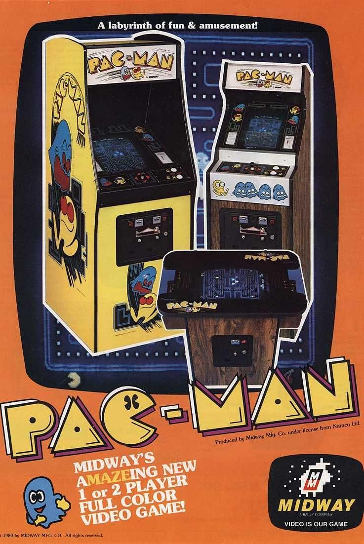 "<p>Creating a new genre of game between space shooters and pong copycats, <em>Pac-Man</em> remains one of the most memorable arcade games ever made. Simply piloting your ravenous yellow dot—without bumping into Blinky, Pinky, Inky, or Clyde—<em>Pac-Man</em>'s simplicity betrays its intense difficulty for players to reach the kill screen. That's why its ancestor, <em>Ms. Pac-Man</em>, is <a href=""https://www.wired.com/story/mircosoft-ai-ms-pac-man/"" rel=""nofollow noopener"" target=""_blank"" data-ylk=""slk:a test for AI capability"" class=""link rapid-noclick-resp"">a test for AI capability</a> some 37 years later.</p><p><a class=""link rapid-noclick-resp"" href=""https://www.amazon.com/Arcade-Classics-Pac-Man-Retro-Mini/dp/B01DK2WO1C/?tag=syn-yahoo-20&ascsubtag=%5Bartid%7C10054.g.2871%5Bsrc%7Cyahoo-us"" rel=""nofollow noopener"" target=""_blank"" data-ylk=""slk:PLAY NOW"">PLAY NOW</a></p>"