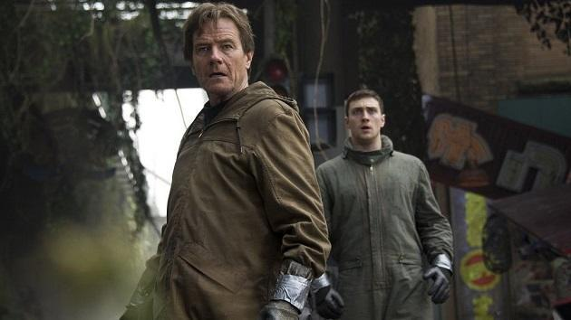 Father and son investigate a nuclear facility. (Warner Bros Pictures)