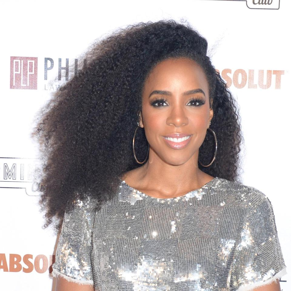 """Besides singing, Kelly Rowland has another talent: constantly serving up bomb hair looks. Her haircut here works for most curl textures (from type 1A to 4C), says Kimble. The various layers throughout her long hair keep things interesting. She adds, """"Be sure your hairstylist cuts it on the longer side because it will shrink up a lot."""" The key is to keep all the layers long."""