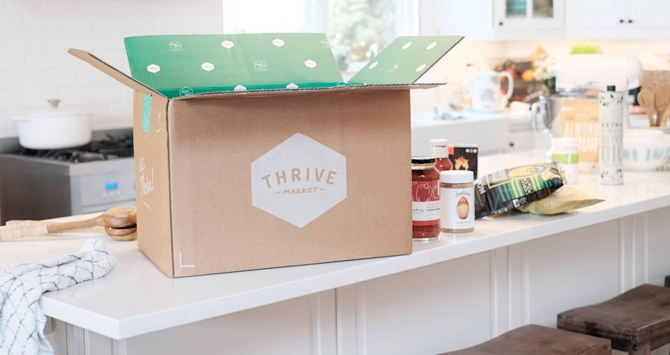 """<p>thrivemarket.com</p><p><strong>$60.00</strong></p><p><a href=""""https://go.redirectingat.com?id=74968X1596630&url=https%3A%2F%2Fthrivemarket.com%2Fmyaisle%2F&sref=https%3A%2F%2Fwww.menshealth.com%2Ftechnology-gear%2Fg34497236%2Fbest-gifts-for-brother%2F"""" rel=""""nofollow noopener"""" target=""""_blank"""" data-ylk=""""slk:BUY IT HERE"""" class=""""link rapid-noclick-resp"""">BUY IT HERE</a></p><p>If he's a health foodie then a membership to Thrive Market for the year will literally be the best thing you could ever give him, especially in the year 2020 when we realized how not fun going to an actual grocery store is. Thrive Market serves members a trusted edit of the healthiest grocery and lifestyle items at a lower than usual price point.</p>"""