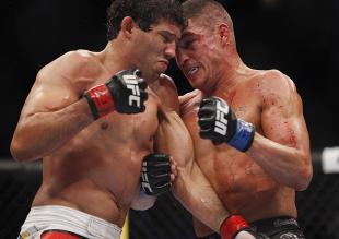 Gilbert Melendez is back in the lightweight title conversation after his win. (USA Today)