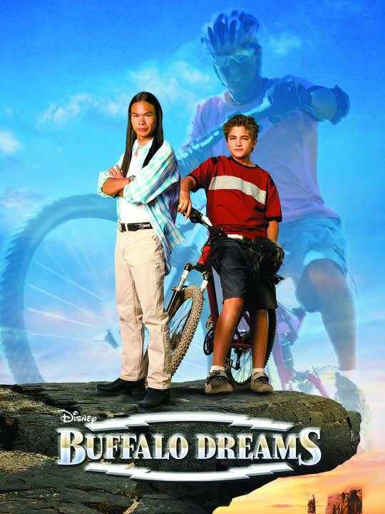 <p>When a big city boy makes new friends on a Native American reservation, will his desire to join a local bike gang jeopardize his newfound awareness of indigenous peoples? It's a modern-day retelling of <i>Bury My Heart at Wounded Knee</i> with a BMX twist!<br><br><i>(Credit: Disney Channel)</i> </p>