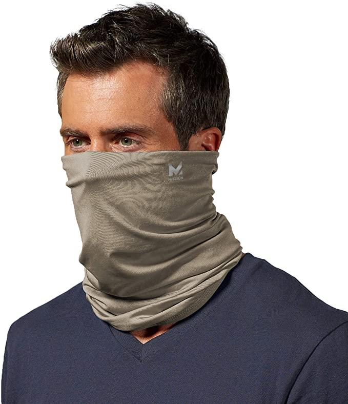 Mission Cooling Neck Gaiter. Image via Amazon.