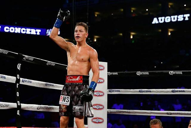 """Boxer Daniel """"Twitch"""" Franco has made dramatic improvement and is now out of intensive care, and is able to speak, after injuries suffered in a fight earlier this month. (Getty Images)"""