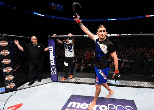 Tony Ferguson continues to rack up wins in the UFC, and he keeps getting passed over for title shots. (Getty)