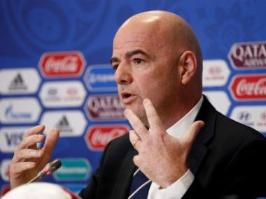 FIFA chief Gianni Infantino says players participating in breakaway Super League will be banned from World Cup