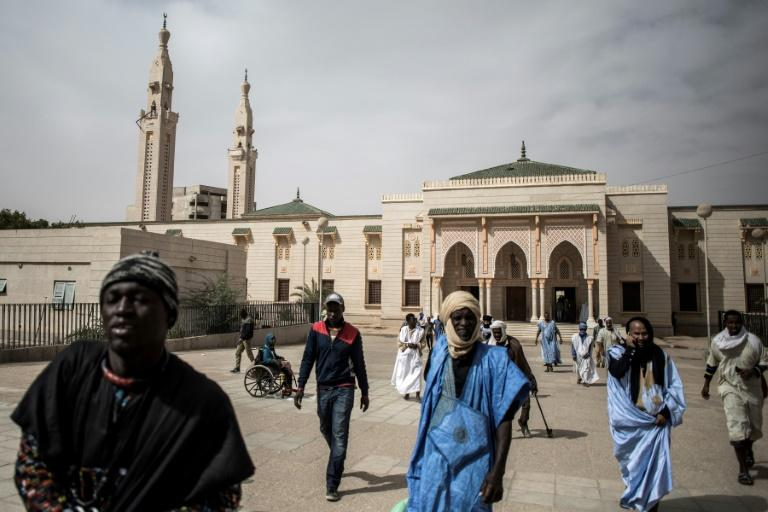 The Saudi Mosque in Nouakchott, the Mauritanian capital. Destroying the religious basis of jihadism has been a key part of the fight against extremists. (AFP Photo/JOHN WESSELS)