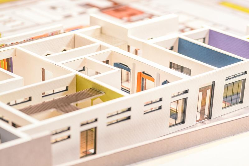 Close-up view of an Architectural Model (Photo: PaoJarib Arquitectura via Getty Images)
