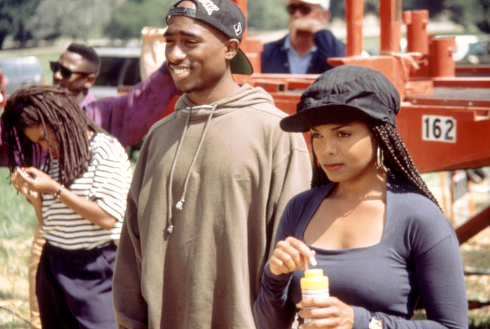 Tupac Shakur and Janet Jackson co-starred in the 1993 movie