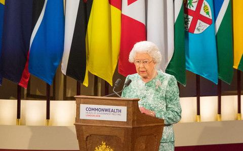 The Queen delivers her speech - Credit: Dominic Lipinski /PA