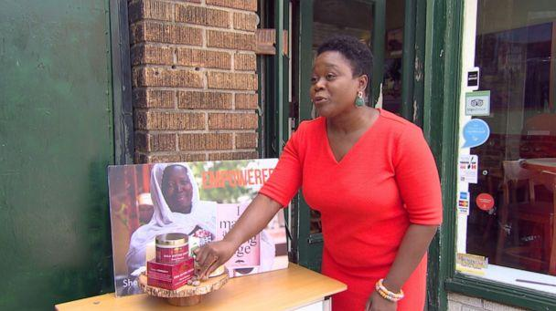 PHOTO: Rahama Wright has run the Washington, D.C.-based beauty brand Shea Yeleen for 15 years. The company is struggling to stay afloat during the COVID-19 pandemic. (ABC News)