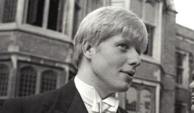 Boris Johnson, pictured in 1986 at the University of Oxford, went to Eton. File photo: Reuters