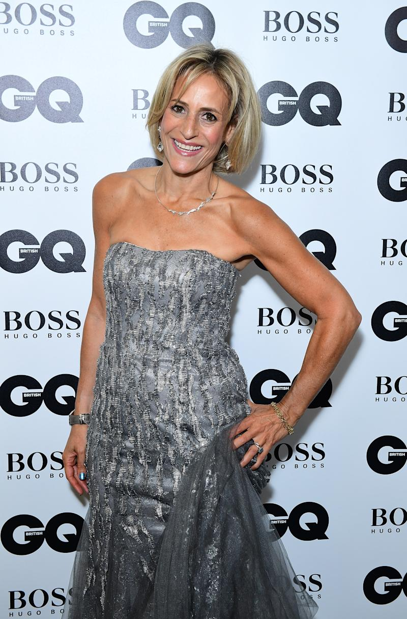File photo dated 05/09/18 of Emily Maitlis. Speaking on Good Morning Britain, the Newsnight presenter has voiced her support for Newswatch host and colleague, Samira Ahmed, who is pursuing an equal pay complaint against the BBC.