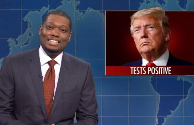 'SNL': Michael Che Says 'There's a Lot Funny About' Trump Getting COVID-19 (Video)