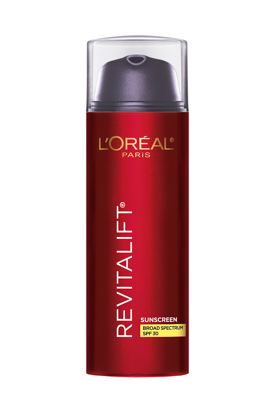 """<p><strong>Revitalift®</strong></p><p>lorealparisusa.com</p><p><strong>$24.99</strong></p><p><a href=""""https://www.lorealparisusa.com/products/skin-care/products/face/revitalift-triple-power-day-lotion-spf-30.aspx"""" rel=""""nofollow noopener"""" target=""""_blank"""" data-ylk=""""slk:Shop Now"""" class=""""link rapid-noclick-resp"""">Shop Now</a></p><p>A combination of <a href=""""https://www.cosmopolitan.com/style-beauty/beauty/g25837230/retinol-face-cream/"""" rel=""""nofollow noopener"""" target=""""_blank"""" data-ylk=""""slk:pro-retinol"""" class=""""link rapid-noclick-resp"""">pro-retinol</a>, vitamin C, and hyaluronic acid all come together in this drugstore sunscreen that <strong>helps firm, hydrate, and brighten your sk</strong><strong>in</strong>. Smooth it over your face as the last step in your morning skincare routine and you'll def love the soft texture it leaves behind.<br></p>"""