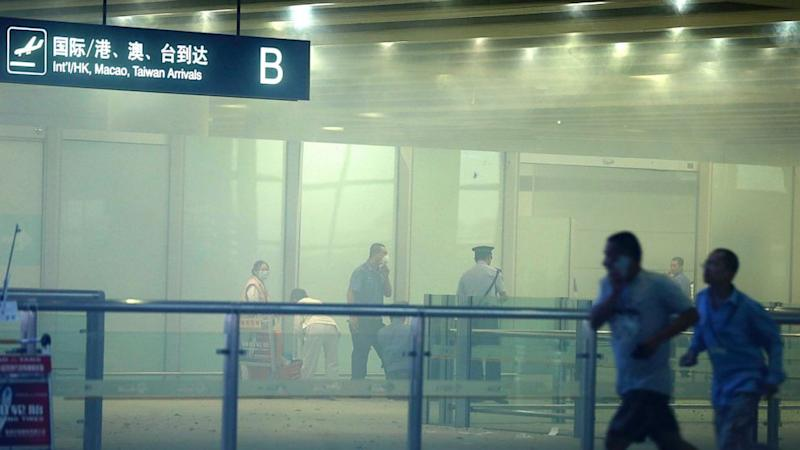 Explosion Rocks Beijing Airport After Man Sets Off Homemade Bomb
