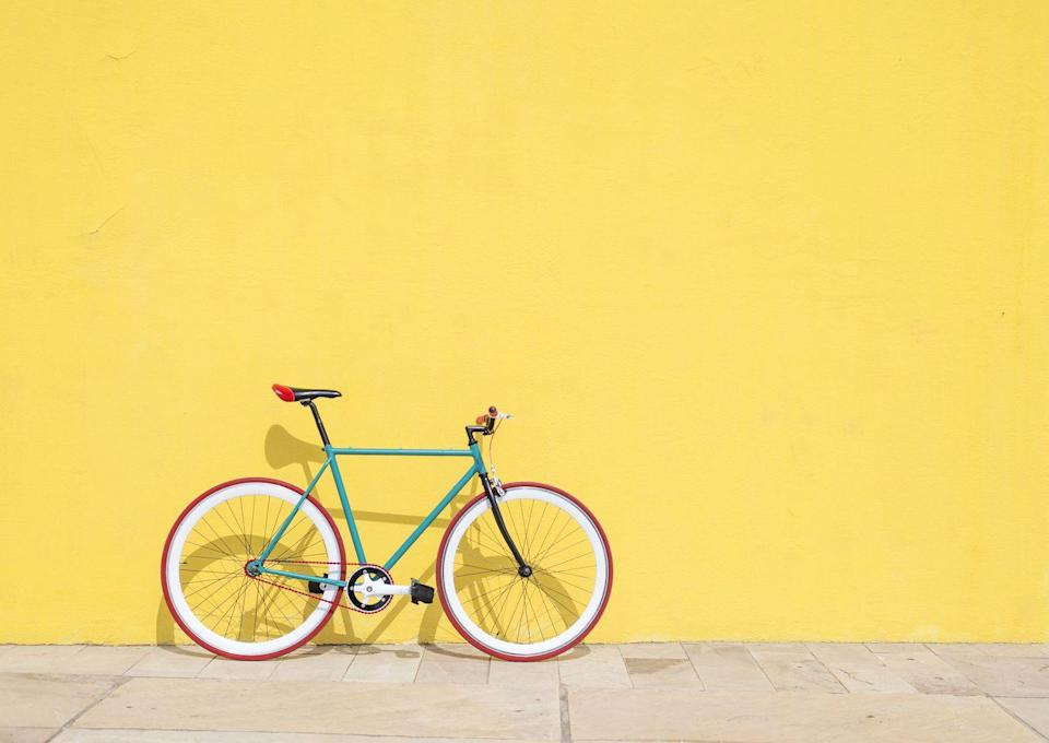 """<p>Bike sales skyrocketed last year as people scrambled to find new ways to spend time outdoors during the height of the COVID-19 pandemic. Here are a few great reasons to jump in the saddle and join the cycling craze, plus an important safety reminder: <br></p><p><strong>• Get a low-impact workout.</strong> Biking is an especially beneficial exercise: It's easier on your joints than walking or running. And the pedaling motion seriously works your muscles, from your legs to your glutes, your abs—all the way up! </p><p>•<strong>Take time for a breather. </strong>Spending time in nature and being physically active have both been shown to reduce stress, anxiety, and depression. And bike riding offers the best of both worlds!<br></p><p><strong>• Help the earth (and your heart).</strong> A cycling commute is good for the environment and your heart. Biking to work was associated with a lower risk of heart disease and cancer, according to a study in <em>The BMJ</em>.</p><p><strong>• Buckle up that chin strap! </strong>Always wear a helmet to protect your noggin. A properly fitted helmet should feel comfortable and snug (measure the circumference of your head to help choose a size). You can also <a href=""""https://www.amazon.com/BV-Bicycle-Headlight-Taillight-Quick-Release/dp/B00A6TBITM/?tag=syn-yahoo-20&ascsubtag=%5Bartid%7C10070.g.36475000%5Bsrc%7Cyahoo-us"""" rel=""""nofollow noopener"""" target=""""_blank"""" data-ylk=""""slk:find light clips"""" class=""""link rapid-noclick-resp"""">find light clips</a> for cycling past sunset.</p><p><a class=""""link rapid-noclick-resp"""" href=""""https://www.goodhousekeeping.com/health-products/g31021936/best-commuter-bikes/"""" rel=""""nofollow noopener"""" target=""""_blank"""" data-ylk=""""slk:SHOP BICYCLES"""">SHOP BICYCLES</a></p>"""