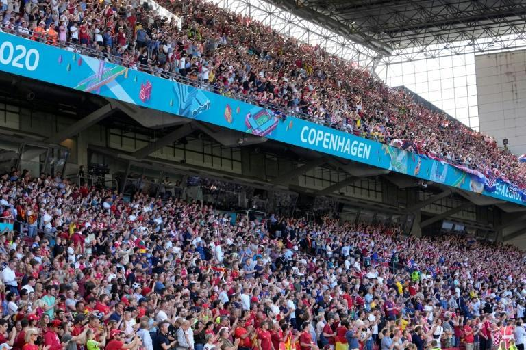 Crowd sizes are growing as the Euro 2020 championship moves into the knockout phases