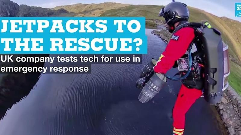 Jetpacks to the rescue? UK company tests tech for use in emergency response
