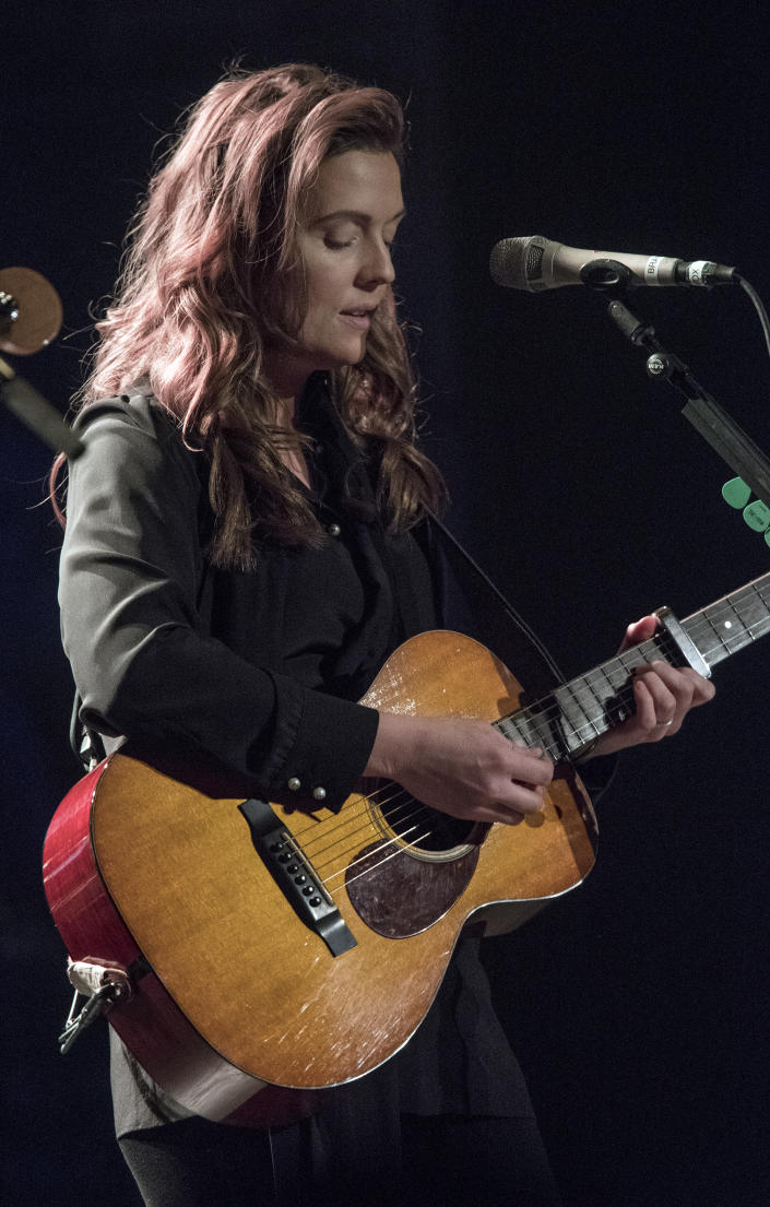 NEW YORK, NY - APRIL 06:  Brandi Carlile live in concert at the Beacon Theatre on April 6, 2018 in New York City.  (Photo by Debra L Rothenberg/Getty Images)