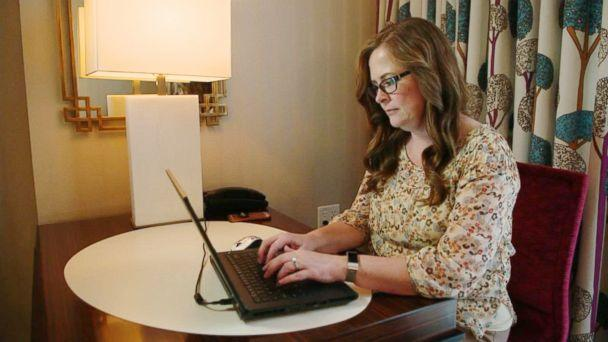 PHOTO: Julie Marburger, 45, wrote a now-viral Facebook post about her frustrations with being a teacher (ABC News)